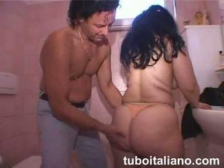 dojrzały, włoski, amator