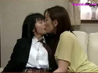 japonés, lesbiana, asiático