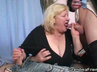 starý, 3some, babička