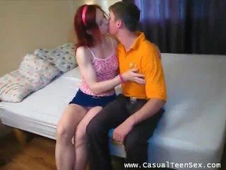 Ginger playful babe merker ham god video