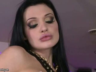 Aletta ocean و aleska diamond سخيف في ناد