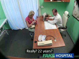 Fakehospital vitke bejba wants seks s doktor
