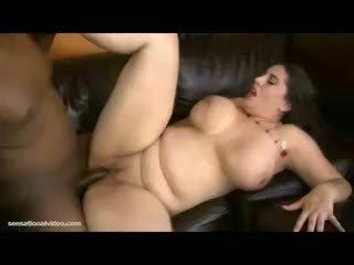 si rambut cokelat, big boobs, bbw