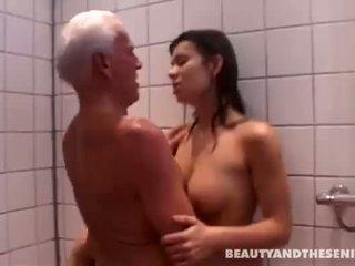 ass liếm, tắm, old farts