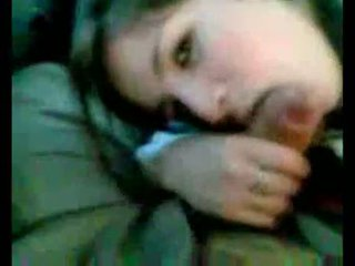 Argentinisch mädchen, lutschen im auto