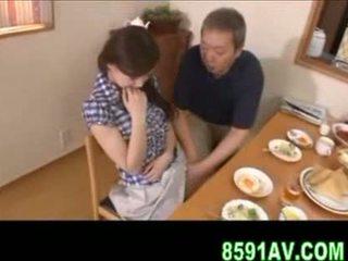 японський, людина, кляп