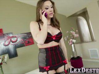 Beautiful big tits Chanel Preston gets destroyed by Lexington Steele