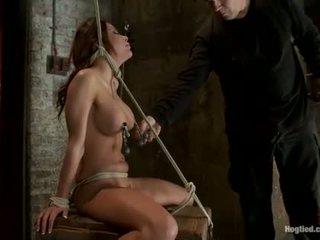 Randy alexa nicole gets tied augšup.
