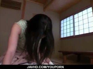 Kaori akitsu sucks cazzo e fucks fino a exhaustion