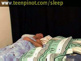 フェラチオ, 女の子, sleep