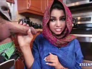 Arab hottie ada gets hänen pillua filled kanssa warm cumload