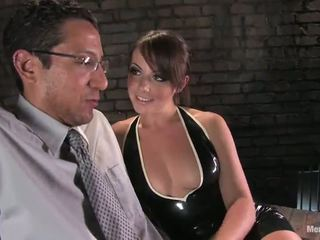 Penny Flame In Kinky Masochism Movement In Dame Domination Vid Involving Pegging Activity