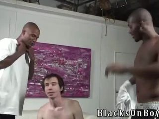 Alex Fucked By 2 Darksome Cocks