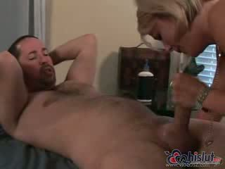 Kayla Synz is a masseuse who is lusting after her client great Booty fucking