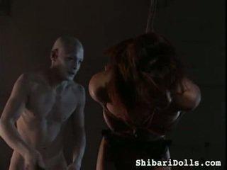最好的 中國的 色情 電影 在 shibari dolls