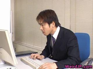 bemanna stora kuk knulla, japansk, boss