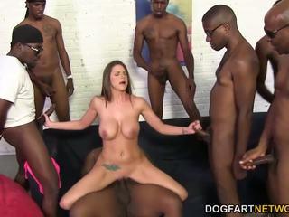 blowjobs, big boobs, interracial