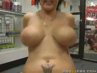 Brunette Gets Her Ass Fucked Hard
