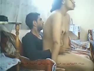 Ägyptisch dame fick zwischen two men-hot video