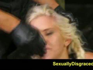 bdsm, fetish, big cocks, blonde, hardcore