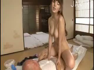 barna, japán, blowjob