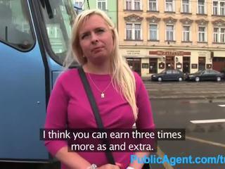 Publicagent busty cô gái tóc vàng trong nhặt nghĩ fucked lược trong disused tòa nhà