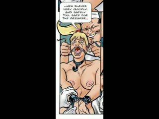 Blondinke ukanjen v bdsm seks strip