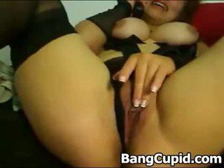 セクシー 熟女 自慰行為 と toying 彼女の 尻