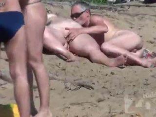 suck, voyeur, plaža