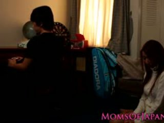 Japonsko mama cheats in gets obraz zajebal