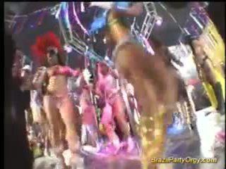 Brazil fiesta orgía chicas en duro grupo sexo y oral puestos de trabajo
