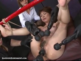 Japanese bondage sex with hary pussy a...