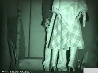 Infrared camera voyeur public sex