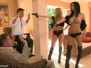Aletta ocean i tarra białe rfucking two guys