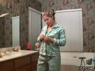 Schnecke fett schnecke fingers im bathtub