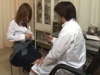 pornoxo, asiático, médicos