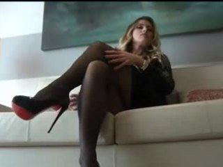 Cum On My Nylon Stockings JOI... IT4