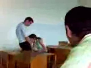 Azeri students pubblico pompino