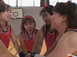 Amatur الآسيوية مراهقون لعب في ال عري
