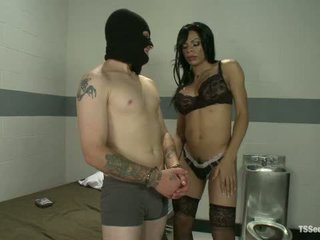 Interrogation ts sasha strokes and her ten inches of law enforcement
