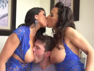 Lisa ann at romi ulan shares one lucky man