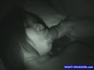 Stor boob ebenholts sömn trekanter