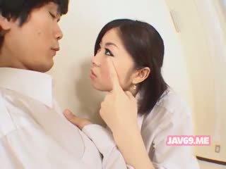 Roztomilý horký korejština dívka having pohlaví