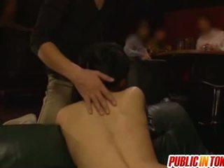 สาธารณะ ร่วมเพศ ด้วย sora aoi เจาะ ใน a เซ็กส์สามคน
