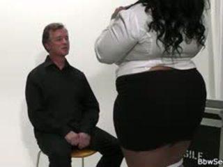 Mega-busty perempuan hitam bbw menipu