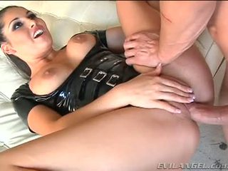 Emma Cummings In Latex Suit Gets Fucked Right In The Ass