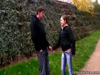 Clarissa Met A Guy In The Park And They Fucked.
