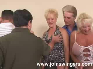 swingers, grootmoeder, oud