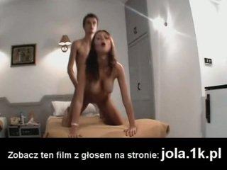sucção, grandes mamas, europeu
