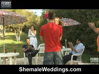 Gorące shemale weddings mov starring senna, alessandra, patricia_bismarck